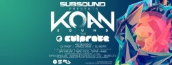 WHAT'S ON: SubSound presents: KOAN Sound // Culprate // plus residents 7 5 16